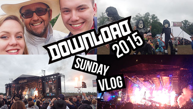 sunday at download festival 2015 | robowecop