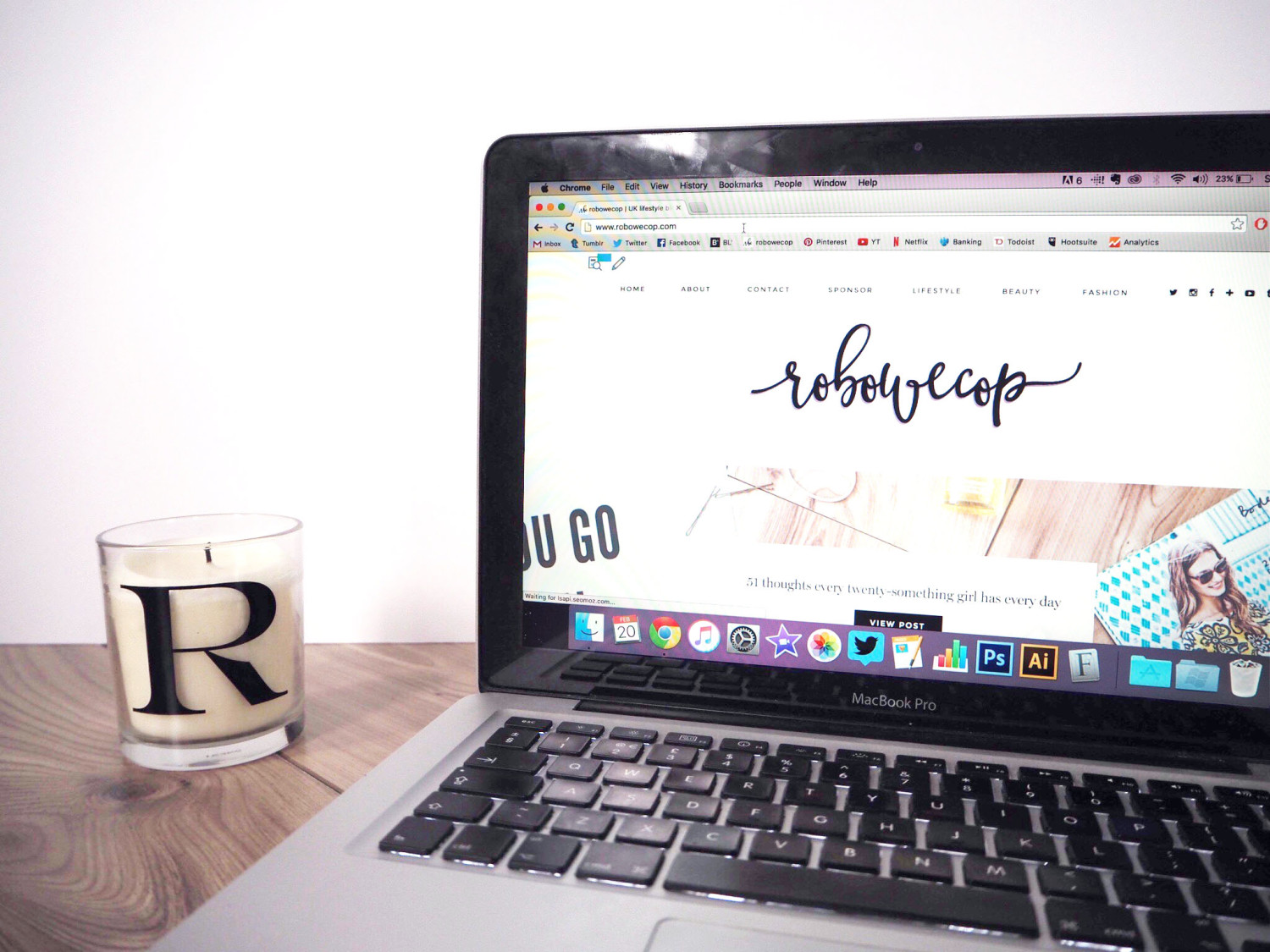 How to fall back in love with your blog | robowecop