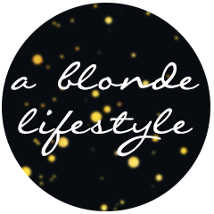 a blonde lifestyle