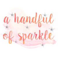 a handful of sparkle