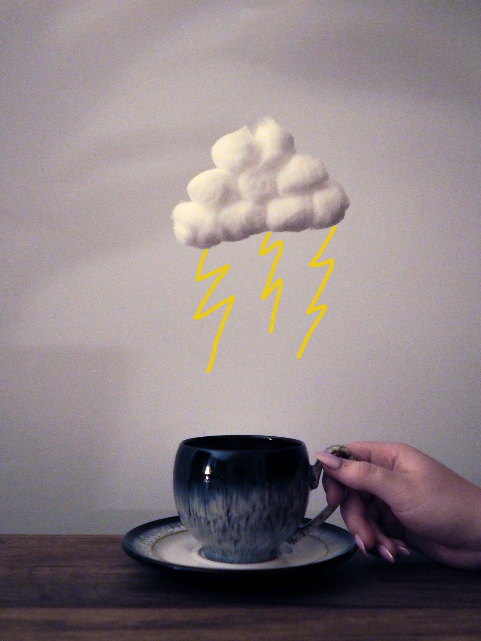 A storm in a teacup and trying to keep my head above water | rhianna olivia