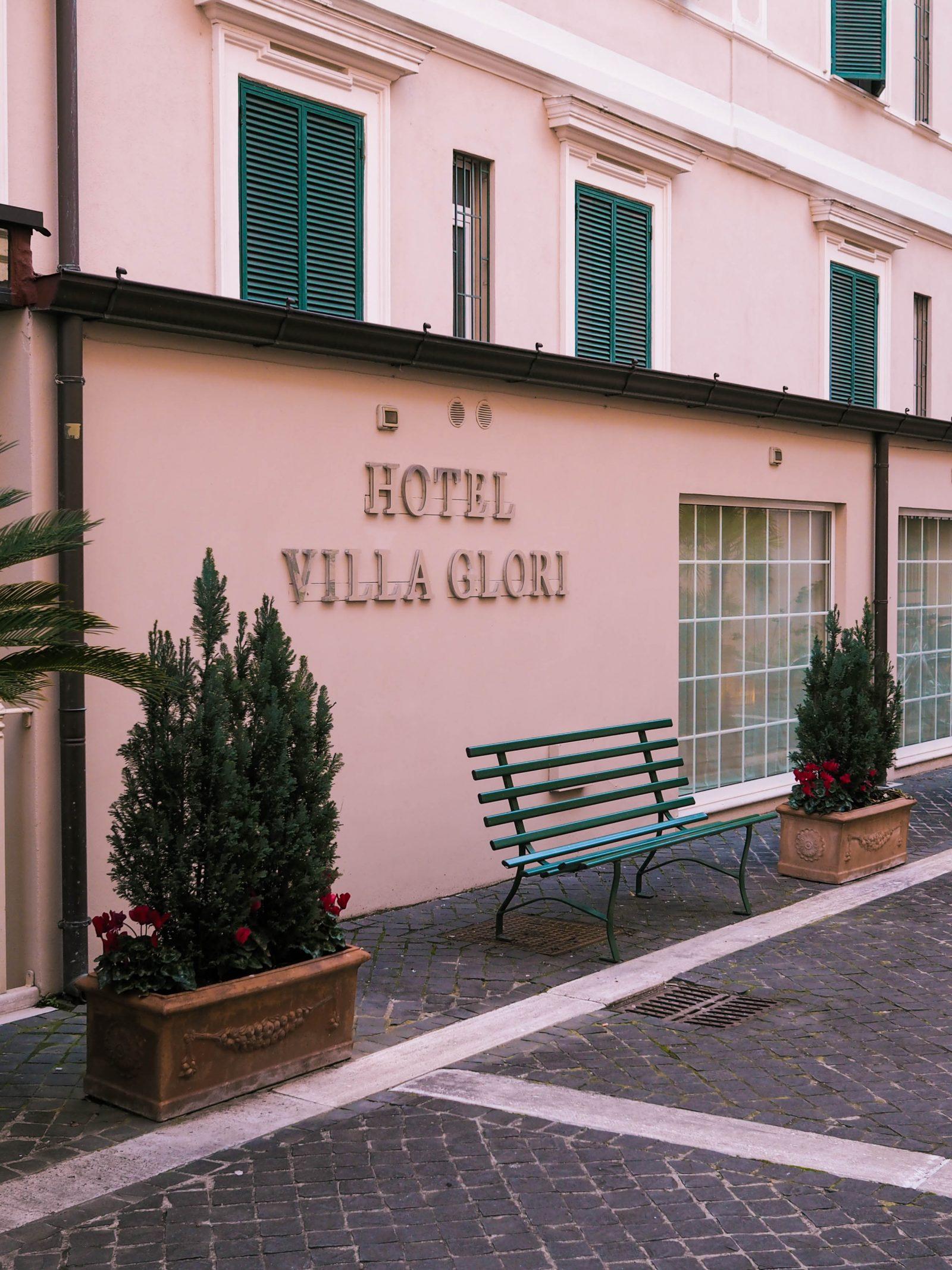 Hotel Villa Glori Rome | rhianna olivia